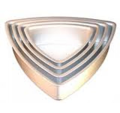 Fat Daddio's Bakblik 25cm Convex Triangle