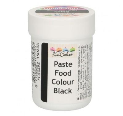 FunCakes FunColours Paste Food Colour - Black 30g
