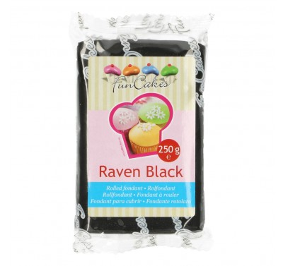FunCakes Rolfondant -Raven Black- -250g-