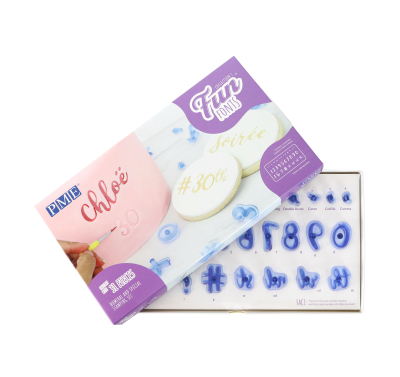 PME Fun Fonts - Collection 1 - Numeral & Special Signs Stamping Set