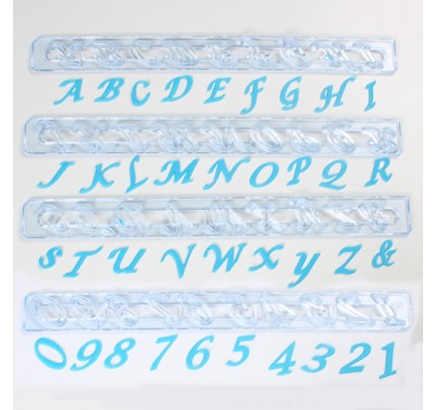 FMM Alphabet & Number tappits  - Script - Upper Case