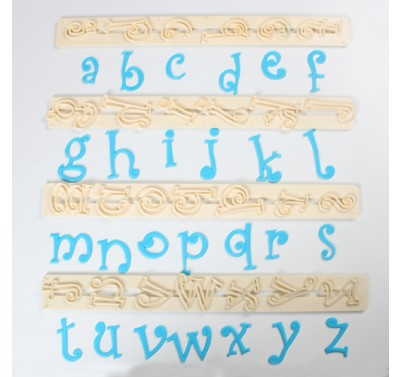 FMM Funky Alphabet tappits Lower Case