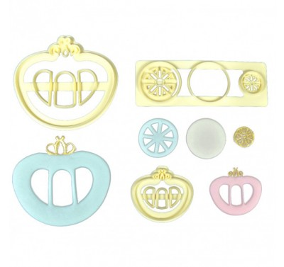 FMM Princess Carriage Cutter set of 3