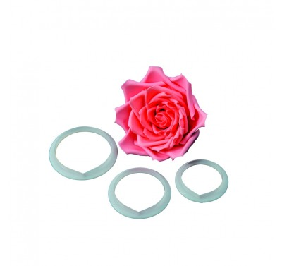 FMM Large Rose Petal Cutter Set/3