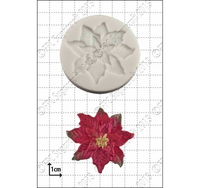 FPC Poinsettia Silicone Mould