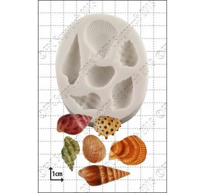 FPC Sea Shells Silicone Mould