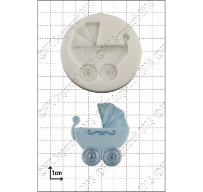 FPC Baby Carriage Silicone Mould