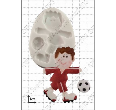 FPC Funky Footballer Silicone Mould