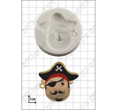 FPC 'Pirate Face (1)' Silicone Mould