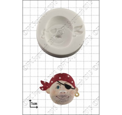 FPC 'Pirate Face (2)' Silicone Mould