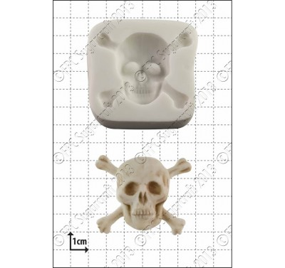 FPC Skull & Crossbones Silicone Mould