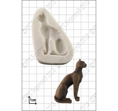 FPC Egyptian Cat Silicone Mould