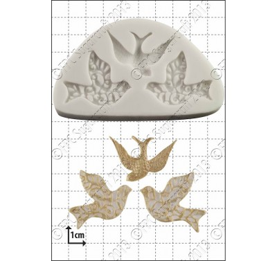 FPC Three Little Birds Silicone Mould
