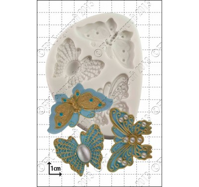FPC Filigree Butterflies Silicone Mould