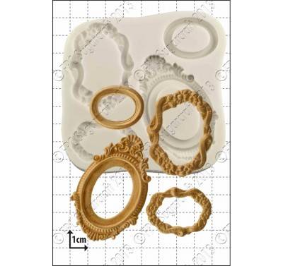 FPC Oval Frames Silicone Mould