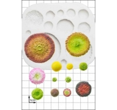 FPC 'Flower Centres' Silicone Mould