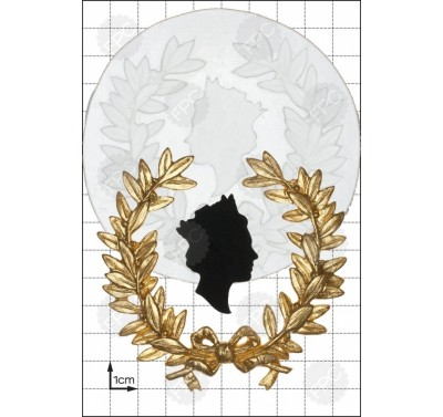 FPC 'Queen's Head & Wreath' Silicone Mould
