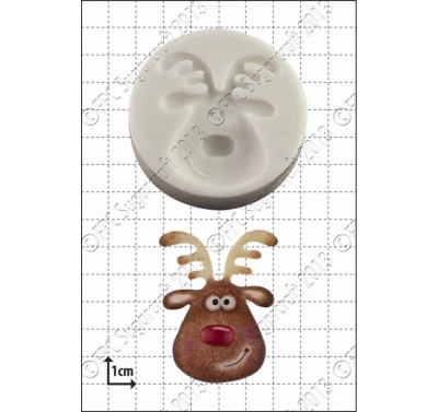 FPC Reindeer Head Silicone Mould