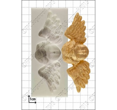 FPC 'Winged cherub' Silicone Mould