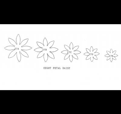 Framar cutters Daisy 8 petal - small