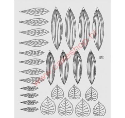 Gelatin Veining Sheet Leaf 2