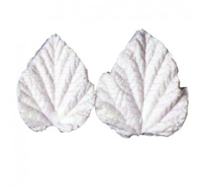 SK GI Leaf Veiner Bramble- Wineberry 4.0/3.5cm Set of 2