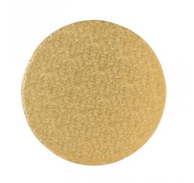 Cake Drum Round 30cm - Gold