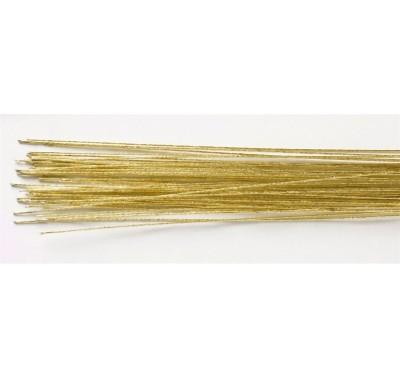 Flower wire Metallic Gold 22g