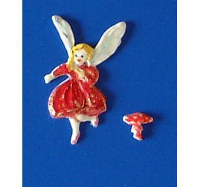 Hawthorne Hill Fairy Rose & toadstool