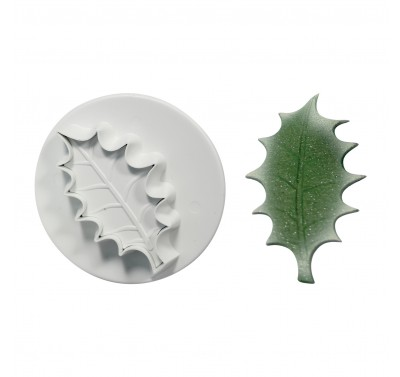 PME Veined Holly Leaf Plunger Cutter XL