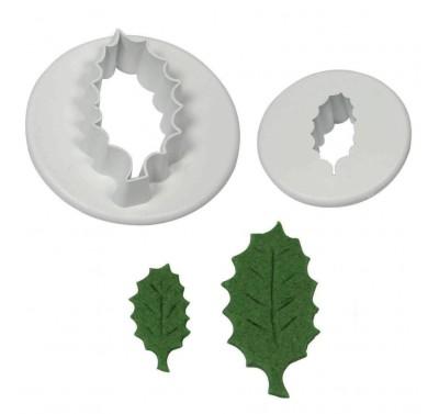 PME Holly Leaf Cutter Set 2