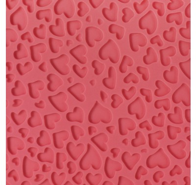 PME Impression Mat - Mini Heart