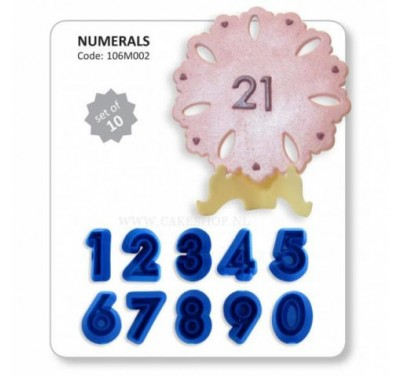 JEM Numerals 0 - 9