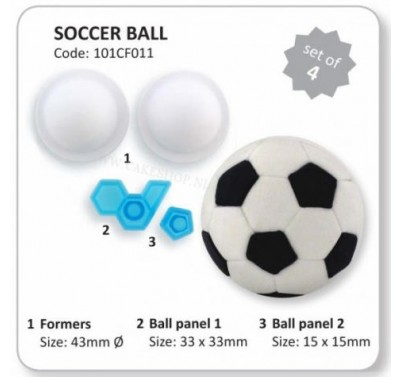JEM Soccer Ball 3D with formers