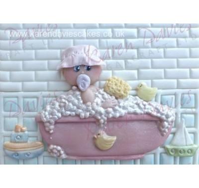 Karen Davies Baby in the Bath