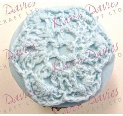 Karen Davies Cupcake Top Crochet
