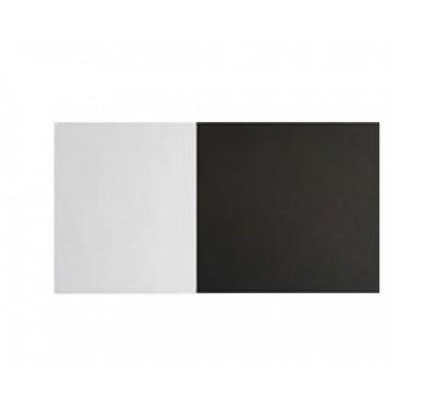 Taartkarton vierkant zwart/wit 25cm - 5 stuks