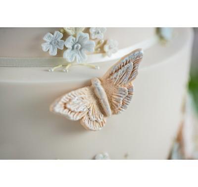 Karen Davies Brush Embroidery Butterflies
