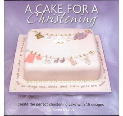 A cake for a christening