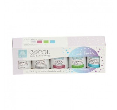 SK Professional COCOL Cocoa Butter Colouring - Cool Tones