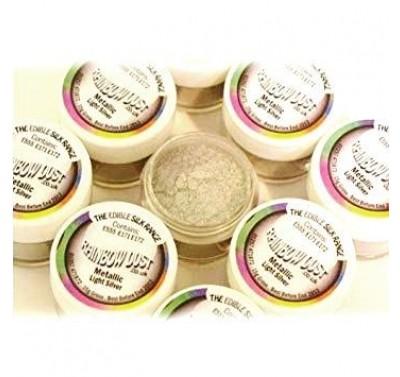 RD Edible Silk - Metallic Light Silver