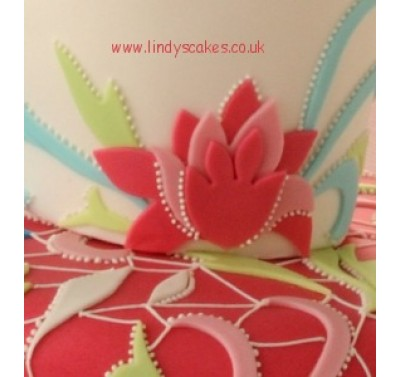 Lindy Smith Stylised Flower