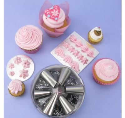 LVC Cupcake Starter Kit Icing Tips