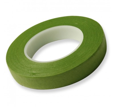 Hamilworth Floral Tape Medium Green