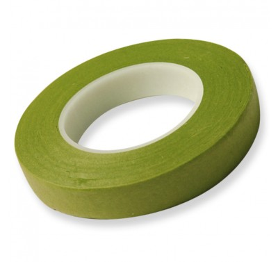 Hamilworth Floral Tape Nile Green