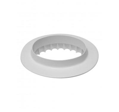 PME Plain & Fluted Oval Plaque 165mm