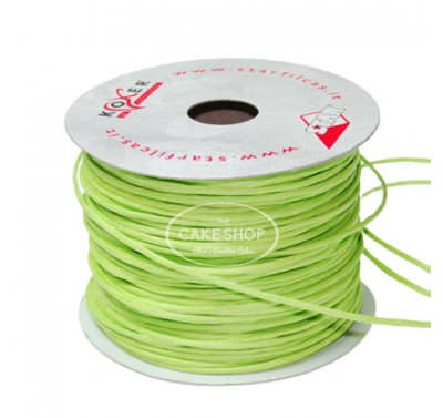 Paper covered wire Apple Green
