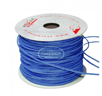 Paper covered wire Blue
