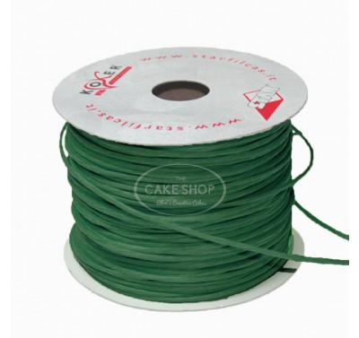 Paper covered wire Dark Green