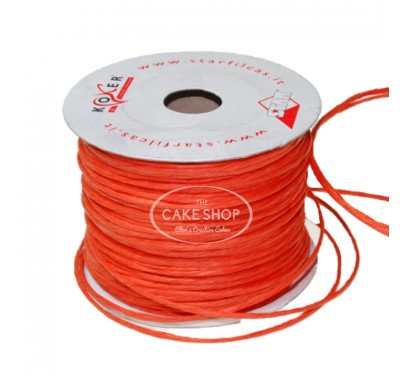 Paper covered wire Orange